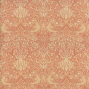 Moda William Morris by The V&A - 5650 - Dove Rose Floral in Cinnamon - 7301 12 - Cotton Fabric